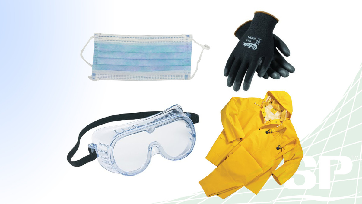 Masks, Gloves, and Other Safety Items